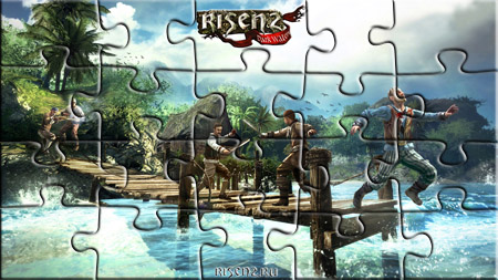 Risen 2 On the pier Puzzle